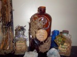Sallys Potions for the wooden trunk