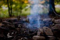 smoking-campfire