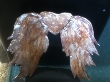 cardboard angel wings 4