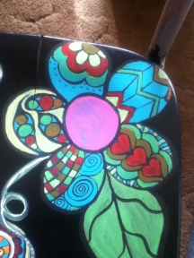 flower chair 2nd flower pattern