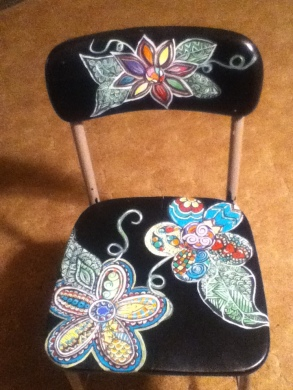flower chair finished 1