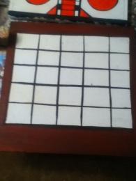 vintage game boards bingo base coat
