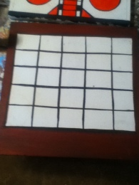 vintage game boards bingo base coat