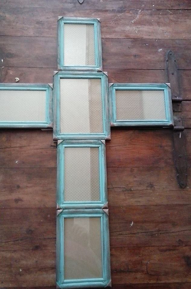blue cross frame