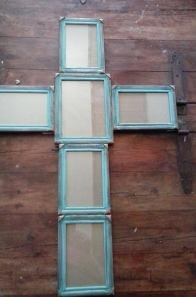 blue cross frame