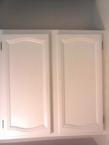 laundry cupboards before