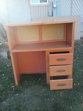 desk base coated