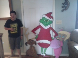 grinch and crew all painted
