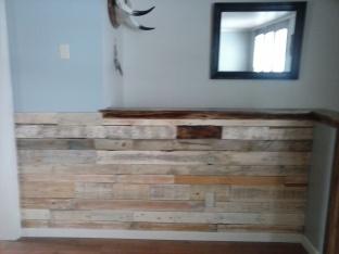 wall all nailed up